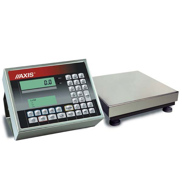 kontrola towarów paczkowanych - wagi AXIS
